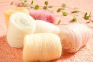 羊毛やフェルト作品の洗濯について