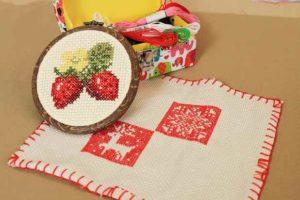 刺繍におすすめの生地は?布の特徴や選び方について大紹介!