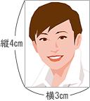 日本生活環境支援協会 | 規定写真サイズ